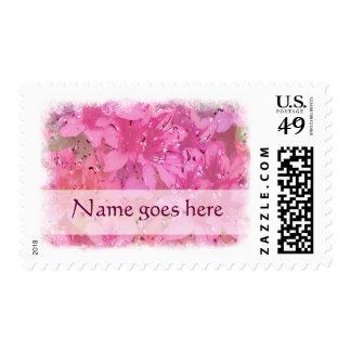 Silky Azaleas Stamps