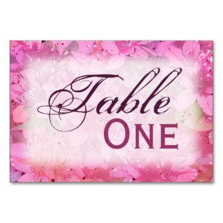 Silky Azaleas Table Card