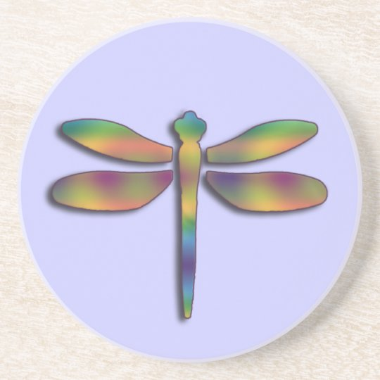 Silky Colors Dragonfly Summer Coasters