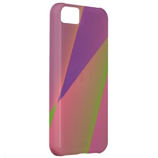 Silky - Girly Abstract in Pink, Purple, and Green Case For iPhone 5C