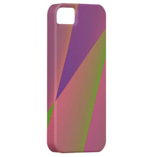 Silky - Girly Abstract in Pink, Purple, and Green iPhone SE/5/5s Case