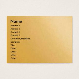 Silky Gold Petal Business Card