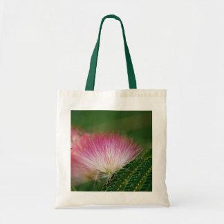Silky Pink Mimosa Tote Bag
