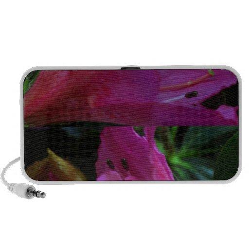 Silky PINK Sensual Flowers : Greetings n Goodluck iPhone Speaker