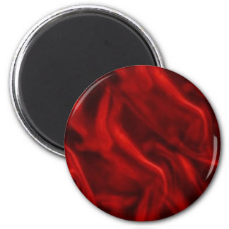 Silky Red Refrigerator Magnet