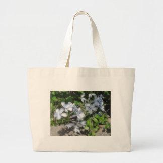 Silky Soft Plumbago Tote Bags