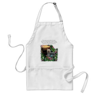 Silky Terrier Art Gifts Apron