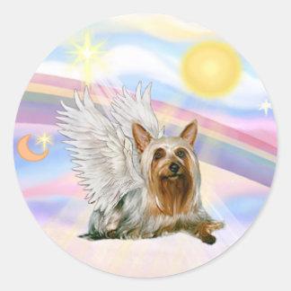Silky Terrier Classic Round Sticker