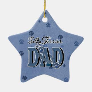 Silky Terrier DAD Ceramic Ornament