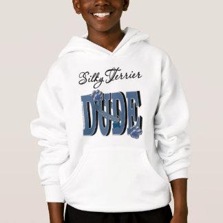Silky Terrier DUDE Hoodie