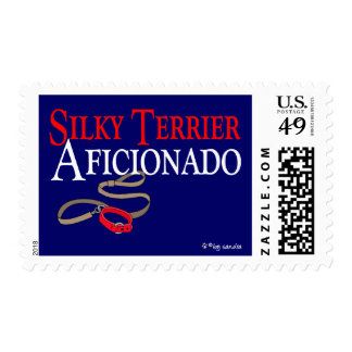 Silky Terrier Postage Stamp