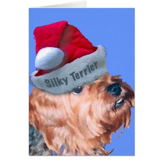 Silky Terrier - Rufus Christmas Card