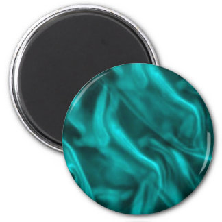 Silky Turquoise Refrigerator Magnets