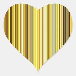 Silky Waves Shine Digital Bright  Pink Rusty Antiq Heart Sticker