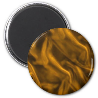 Silky Yellow Gold Fridge Magnet