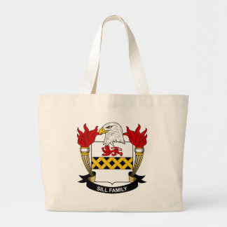 Sill Family Crest Tote Bag