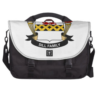 Sill Family Crest Bag For Laptop
