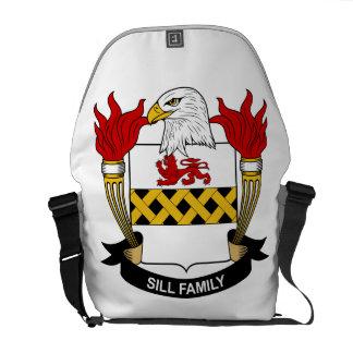 Sill Family Crest Messenger Bag