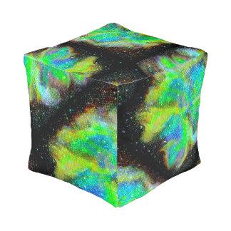 Silla cuadrada cósmica del taburete de la nebulosa