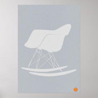Silla de Eames Poster