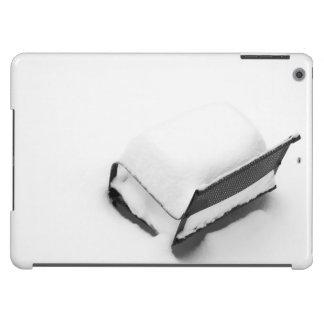 Silla de jardín del metal del vintage por completo funda para iPad air