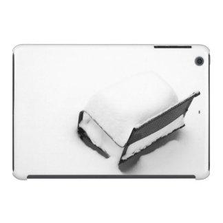 Silla de jardín del metal del vintage por completo funda para iPad mini retina