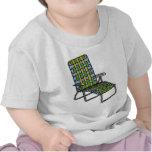 Silla de jardín plegable 2 camisetas