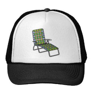 Silla de jardín plegable 2 gorras