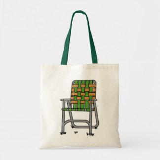 Silla de jardín plegable bolsa tela barata