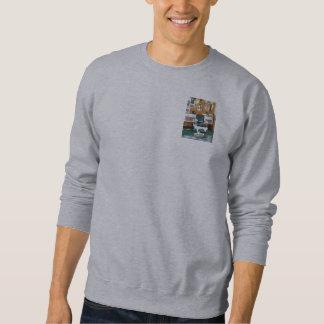 Silla de la peluquería de caballeros una suéter