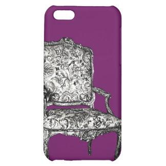 Silla de la regencia en púrpura