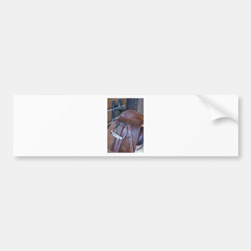 Silla de montar etiqueta de parachoque