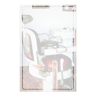 Silla de peluquero papeleria de diseño