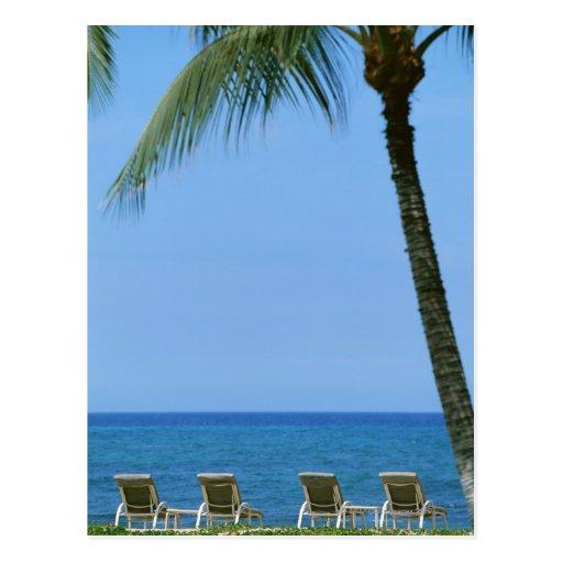 Silla de playa 3 postal