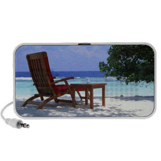 Silla de playa 6 notebook altavoces