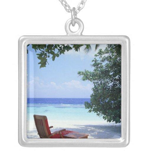 Silla de playa colgante cuadrado