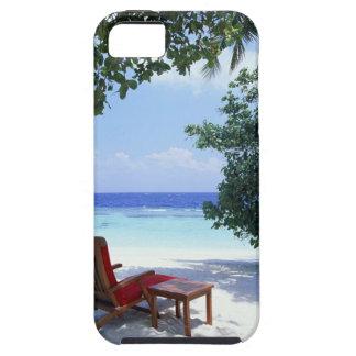 Silla de playa iPhone 5 carcasa