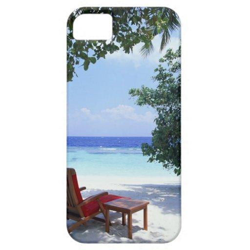 Silla de playa iPhone 5 fundas