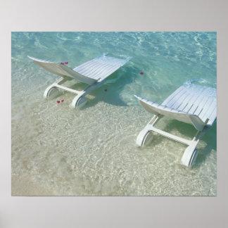 Silla de playa impresiones