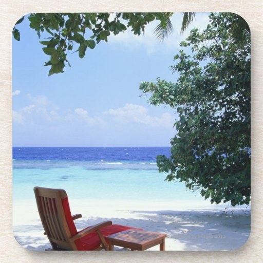 Silla de playa posavaso