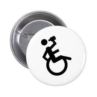 silla de rueda del boozer de la silla de ruedas pin redondo 5 cm