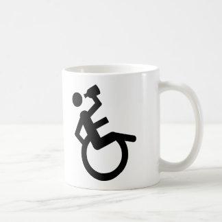 silla de rueda del boozer de la silla de ruedas taza clásica