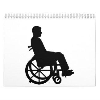 Silla de ruedas calendario