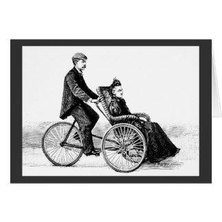 Silla de ruedas de la bicicleta - bicicletas del tarjeta pequeña