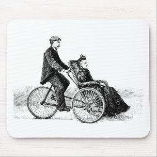 Silla de ruedas de la bicicleta - bicicletas del V Tapete De Ratones