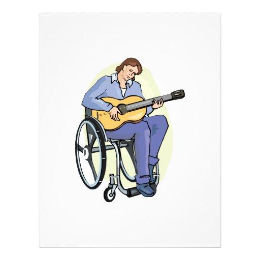 silla de ruedas graphic.png del guitarrista tarjetones