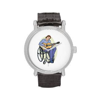 silla de ruedas graphic.png del guitarrista relojes de mano