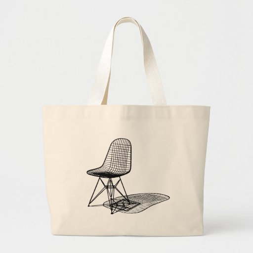 silla del alambre de los eames de Charles Bolsa