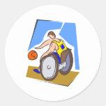 Silla del baloncesto etiquetas