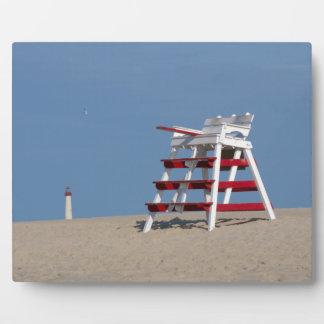 Silla del salvavidas de Cape May Placa